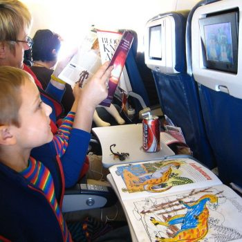 Friday Question: How do you keep your child(ren) happy on a long trip?