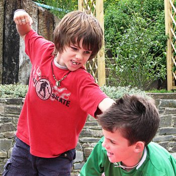 Friday Question: How do you handle bad behavior in a friend's child?