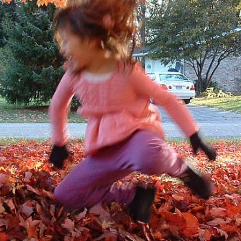 Saturday Sidebar:  What is your favorite autumn (or spring) memory as a kid?