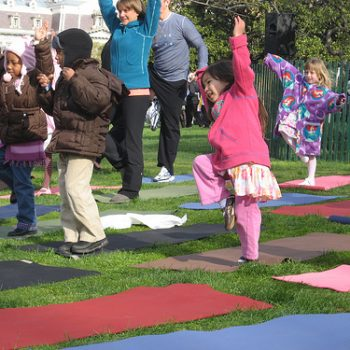 TEXAS, USA: Toddler Yoga