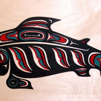 WASHINGTON, USA: Honoring the Salmon