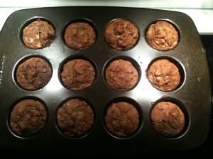 NEW YORK, USA: My Healthier Muffins!