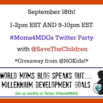 #Moms4MDGs on MDG 2 With Save The Children
