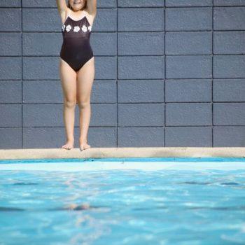 WASHINGTON, USA: Swimming lesson drama