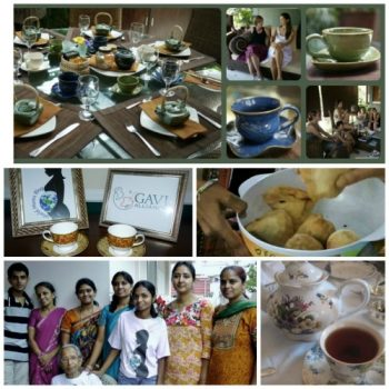 WORLD VOICE: How to Host a GAVI Global Tea Party!