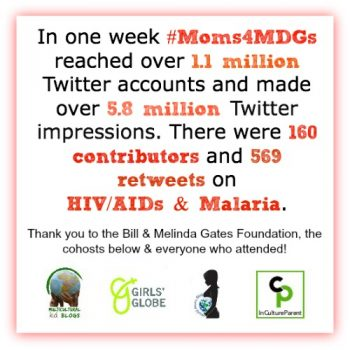 #Moms4MDGs How it Went & the Impact for #SocialGood