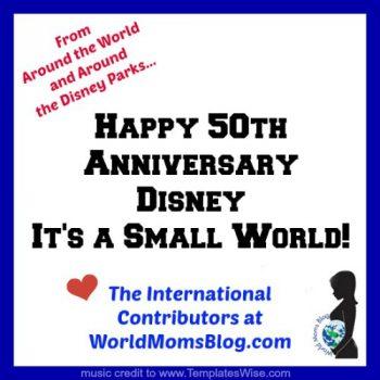Happy 50th Anniversary to Disney's It's A Small World!