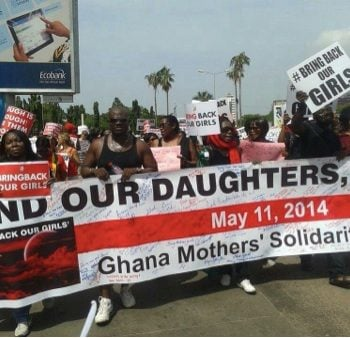 SOCIAL GOOD: Ghana Mothers' Solidarity March #BringBackOurGirls