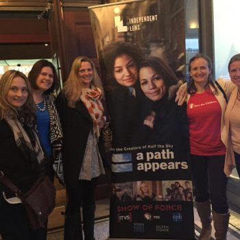 WORLD VOICE: #WorldMoms Attend NYC Preview with @SaveTheChildren for @APathAppears Airing Over 3 Nights