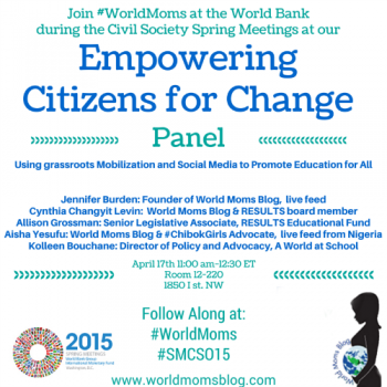 WORLD VOICE: 10 Takeaways from the @WorldBank's #SMCSO15 Meetings #WorldMoms