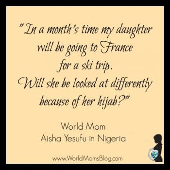 NIGERIA: A Muslim Mother Recounts News of the Paris Attack
