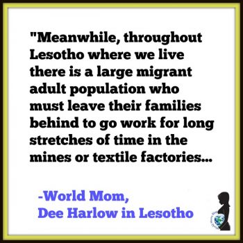 LESOTHO: Thoughts (and Anxieties) as an Expat Parent