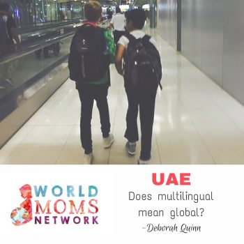 UAE: Does multilingual mean global?