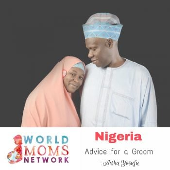 NIGERIA: Advice for a Groom