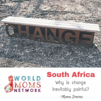 SOUTH AFRICA: Why is change inevitably painful?
