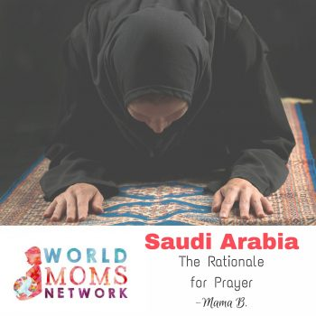 SAUDI ARABIA: The Rationale for Prayer