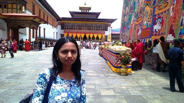 #WorldMom, Purnima in Trashichho Dzong, Thimpu, Bhutan