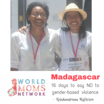 MADAGASCAR: 16 days to say NO to gender-based violence