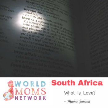 SOUTH AFRICA: What is Love?