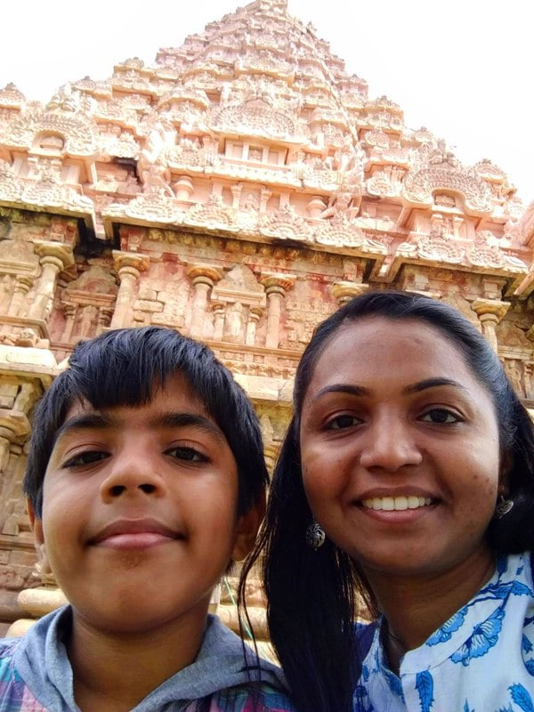 #WorldMom Purnima from India with her son
