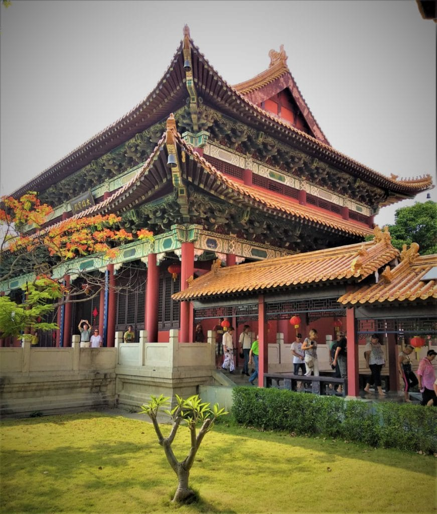 Courtyard of the Chinese Monastery