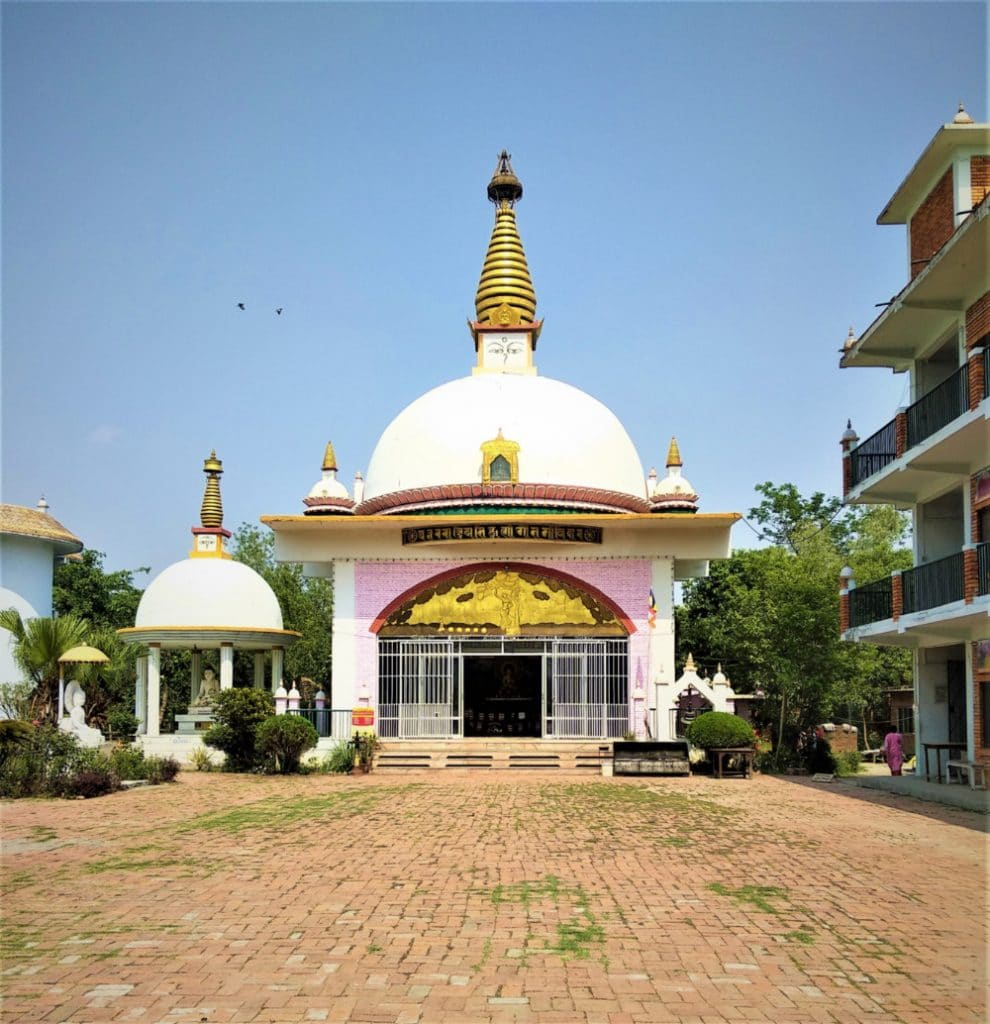 International Nuns Temple in Nepal