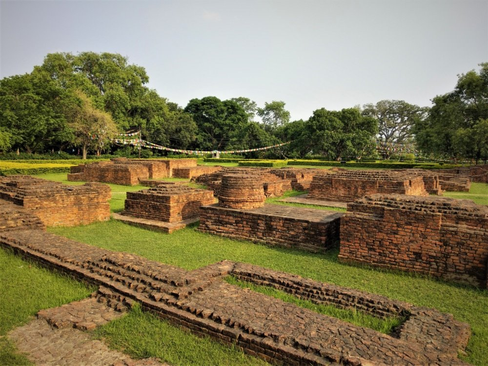 Archaeological Ruins Around the Temple