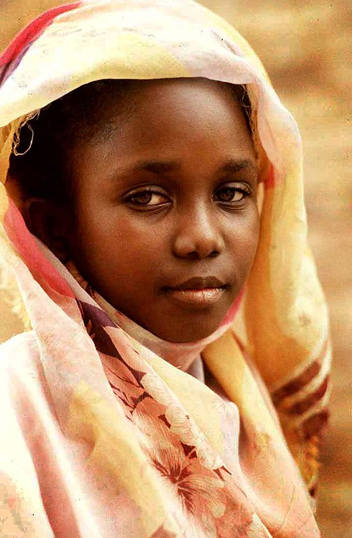 A Young Sudanese Girl