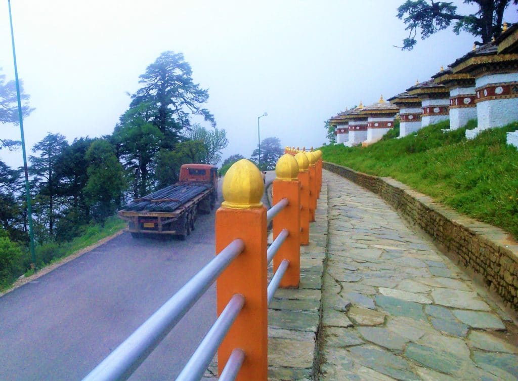 Going back to the Punakha Valley ...